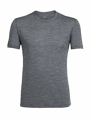 Icebreaker Tech Lite T-Shirt Manches Courtes Homme, Gritstone...