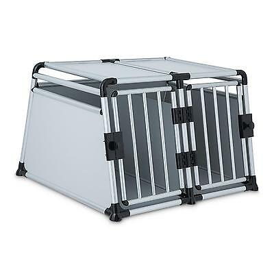 Dog Pet Cat Supplies Carrier Aluminium Crate Stable Easy Care Box Transport New