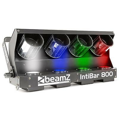 Beamz Led Scanner Spotlights Led Dmx 4 X 10 W Dmx Control Automatic Microphone