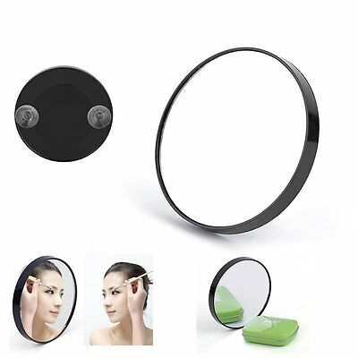 10X Magnifying Glass Cosmetics Mirror With Suction Cups GTauty Makeup Tool DF