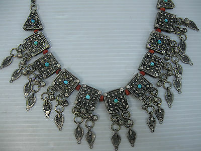 An Antique/vintage Rare And Beautifully Made, Necklace From Yemen