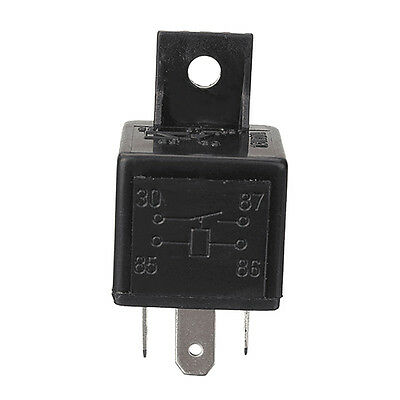 4 Pin 12V 30A Auto Relays For Aux Lights Horns Car Boat Van Motorbike DF