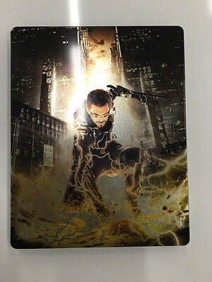 Deus Ex Mankind Divided Metal game case only Steelbook XBOX One Ps4 PC no game