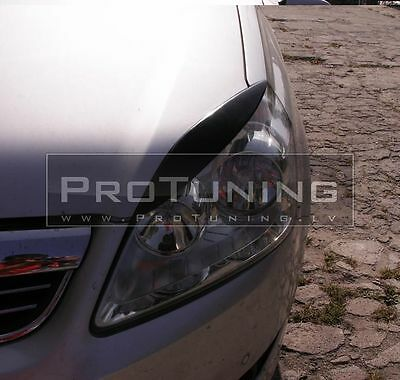 Opel Zafira A 05-11 eyebrows headlight spoiler lightbrows eye lids brows covers
