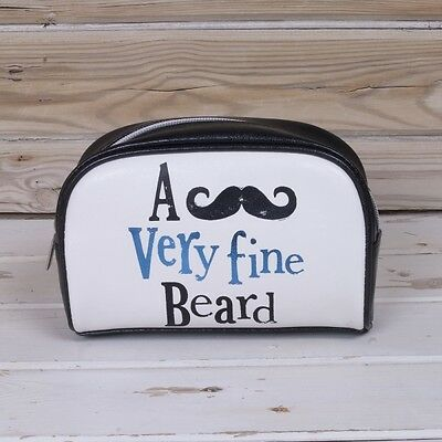 A Very Fine Beard Trim Kit The Bright Side Wash Bag