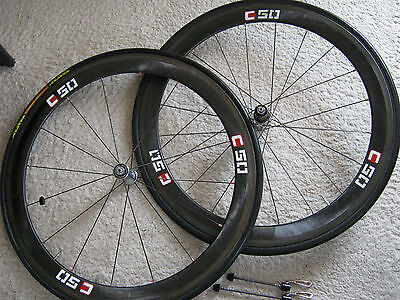 Shimano Dura-Ace C50, Wh-7850 10-Speed Complete Wheel Set, Vgc