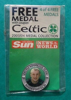 Celtic Robert Douglas 2003/04 Medal Collection