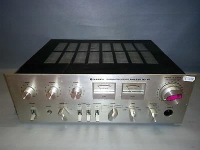 Sanyo Integrated Stereo Amplifier Dca 611 -- Nº Serie - 1312 7103 19800