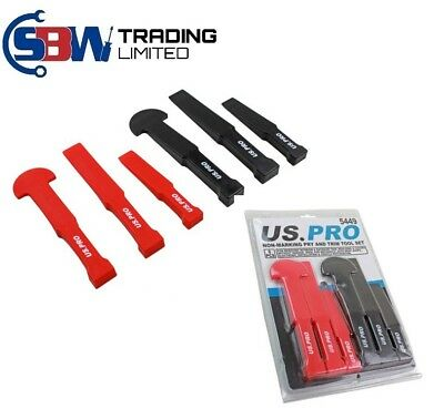 US PRO Tools 6pc Non-Marking Trim & Pry Tool Set 5449