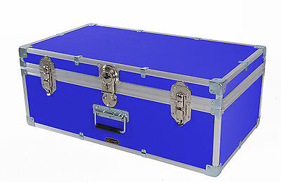 British Mossman Strong Boarding School Cabin Attache Luggage Trunk  Storage Case