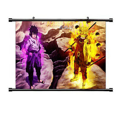NARUTO Anime PAINTING Living Room Bedroom Mural Decor Wall Scroll Art  Poster