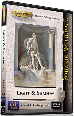 Johnnie Liliedahl: Light & Shadow - Art Instruction DVD