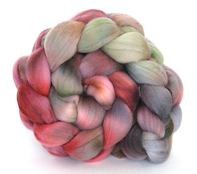 Kettle Dyed Falkland Wool Top 100g FT04 Spinning Felting Fibre Shunklies