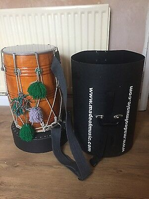 musical instrument - dhol and case