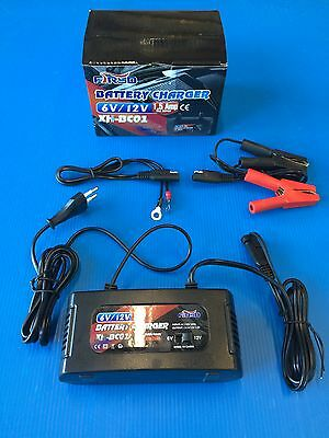 battery charger and keep the charge for motorcycles voltag 6 and 12 v new