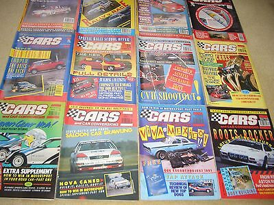 Cars and Car Conversions 1990. 12 issues January to December