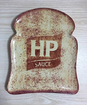 Official HP Sauce Toast Shaped Collectors Plate