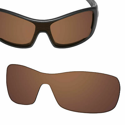 Replacement Lens for-OAKLEY Antix Sunglasses Earth Brown Polarized 100% UVA&UVB