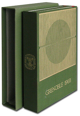 Olympic Games Olympische Spiele Grenoble 1968 Official Report  Bericht