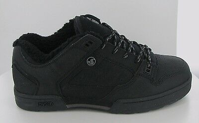 SKATE SCHUHE DVS Militia black/grey leather snow Größe US 9/EUR 42.5