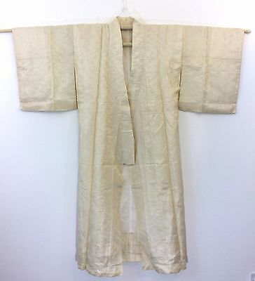 Vintage authentic Japanese silk jyuban for women, imported from Japan (G1023)