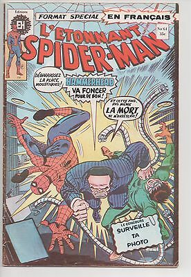 SPIDER-MAN #61 french comic français EDITIONS HERITAGE