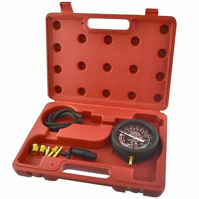 Fuel Vacuum And Fuel Pump Pressure Tester Gauge Kit Carburettor Valve  AN023