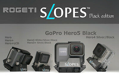 NEW SLOPES Black, Instant Stand for GoPro in housing Hero 4 3 3+ Silver / Black