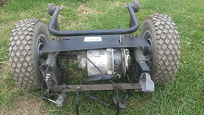 Sterling Bec Mobility Scooter 24V Dc Motor Gearbox And Wheels Assy