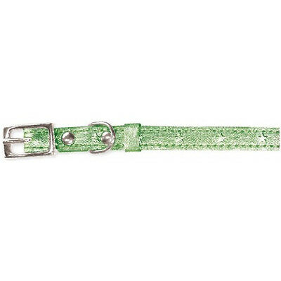 Metallic Cat Collar Mint 10mm