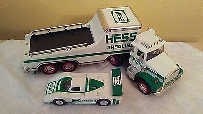 1988 Hess Toy Truck and Racer No Box