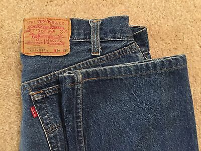 Vintage 1980s Levi's 501 XX No Big E Size 30x26 Made in USA