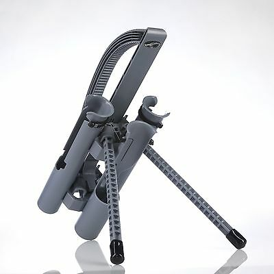 ROD-RUNNER EXPRESS: GRAY Protect and Carry up to 3 Rods in 1 Hand with Ease