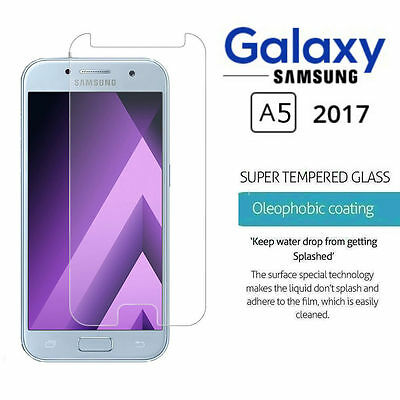 Real Hard HD Tempered Glass Temper Glass Screen Protector For Samsung A5 2017