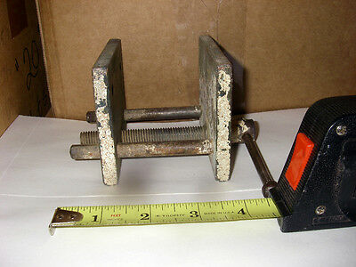 Vintage Small Wood Working Vise In Good Condition