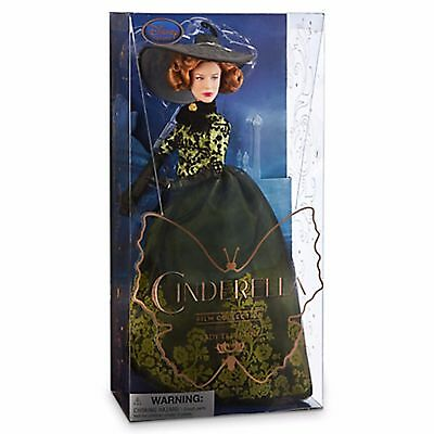 Disney Store Lady Tremaine Stepmother Cinderella Film Collection Doll Org Tag$35
