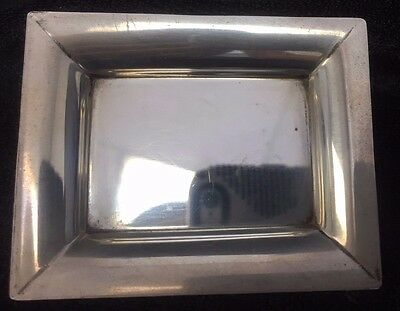 Rare Sterling Silver Tiffany & Co. Change Tray Moderne Modern style