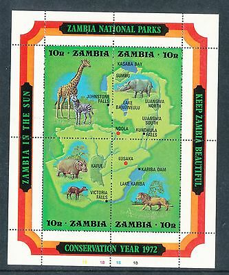 Zambia 1972 National Parks MS