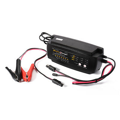 7 Stage Automatic Maintenance Smart Battery Charger 12V 4000mA for Car Van MA566