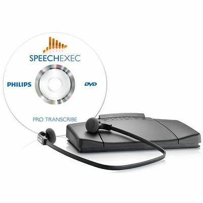 Philips SpeechExec Pro Transcription Set Workflow Software (LFH-7277) LFH7277