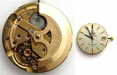OMEGA CONSTELLATION 564 original automatic watch movement working  (4885)