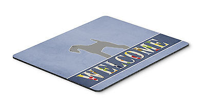 Kerry Blue Terrier Welcome Mouse Pad, Hot Pad or Trivet