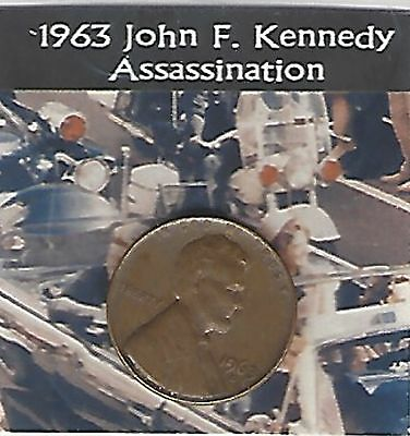 US 1963 Lincoln cent The Year of the John F Kennedy Assassination