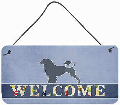 Portuguese Water Dog Welcome Wall or Door Hanging Prints