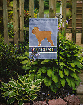 Carolines Treasures  BB5544GF Brussels Griffon Welcome Flag Garden Size