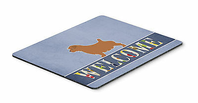 Norfolk Terrier Welcome Mouse Pad, Hot Pad or Trivet