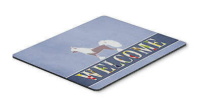 Chinese Crested Welcome Mouse Pad, Hot Pad or Trivet