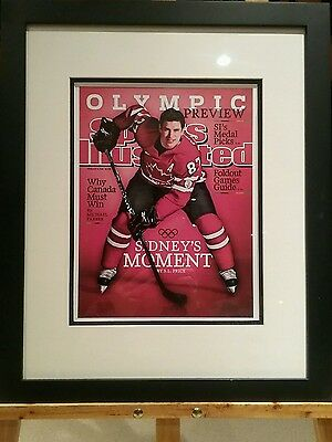 Framed Sidney Crosby Sports Illustrated Cover Print