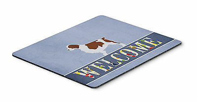 Welsh Springer Spaniel Welcome Mouse Pad, Hot Pad or Trivet