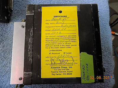 Repaired/Tested King KMA 20 Audio Panel P/N 066-1024-03